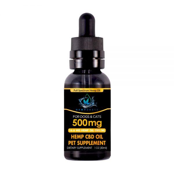 Full Spectrum Pet Tincture Oil 500 mg